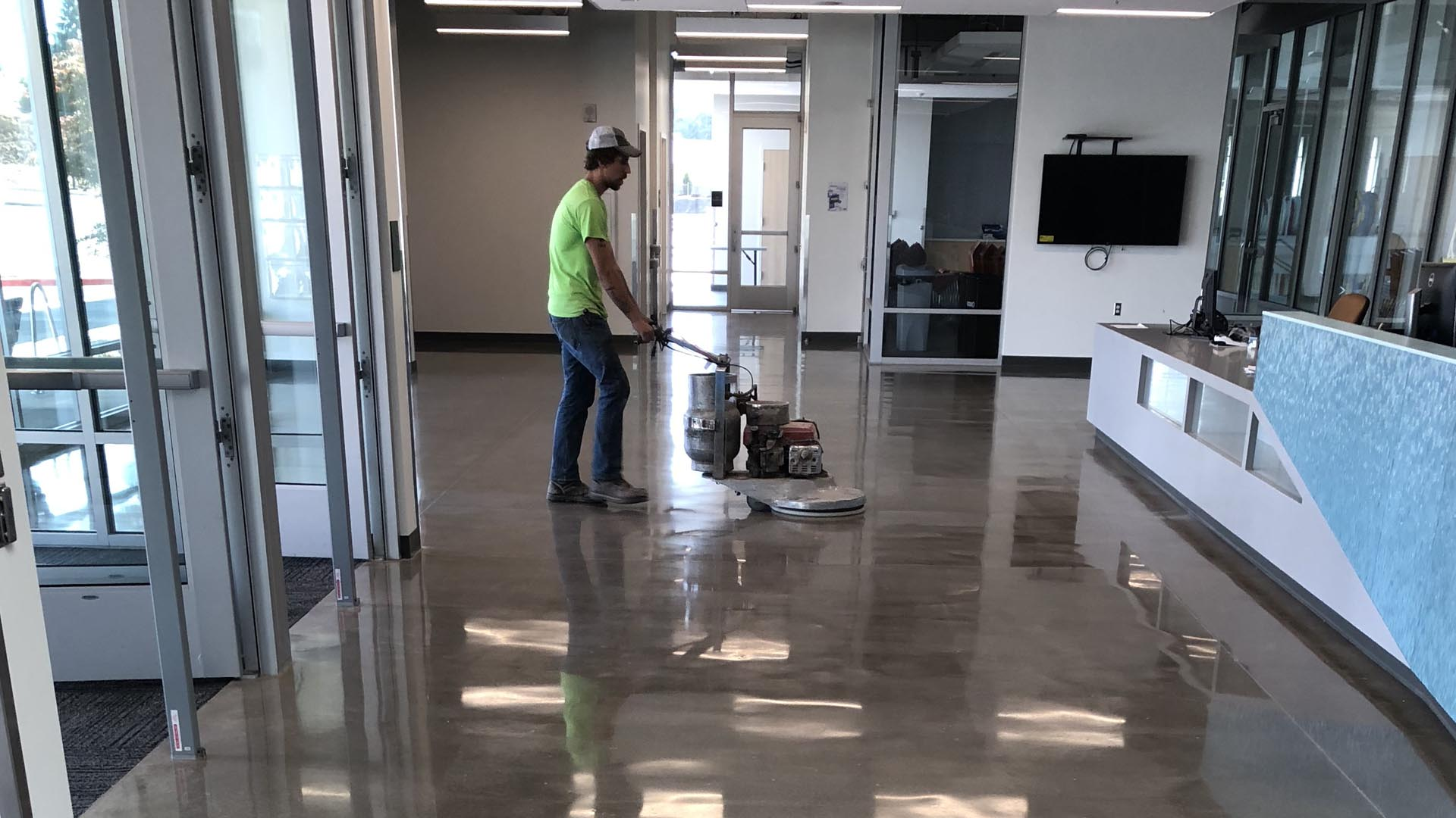 JS Concrete Finishing LLC: Polished Concrete, Epoxy Flooring and Concrete Grinding in Portland OR, Beaverton OR and Tigard OR